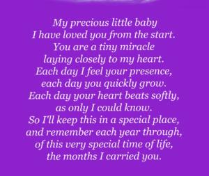 Poema para la mamá embarazada